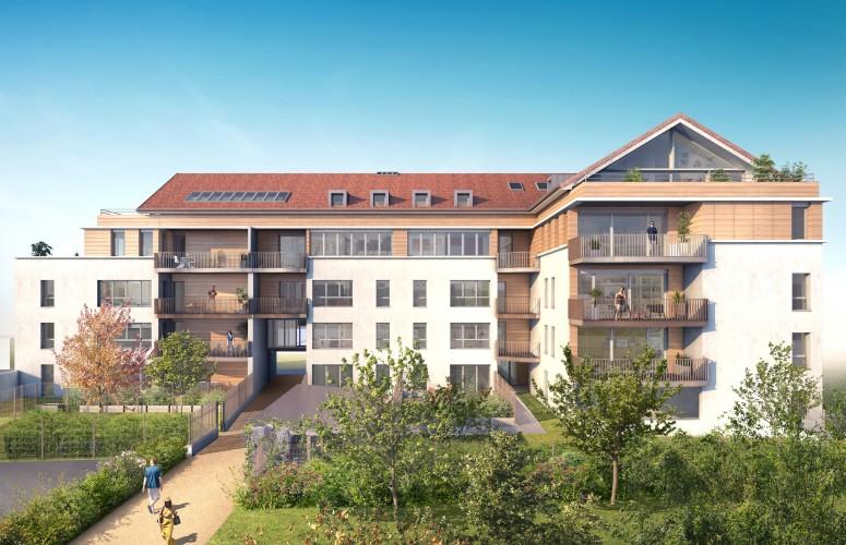 Programme immobilier - LES GLYCINES DE FERNEX Accueil Impact immobilier 01