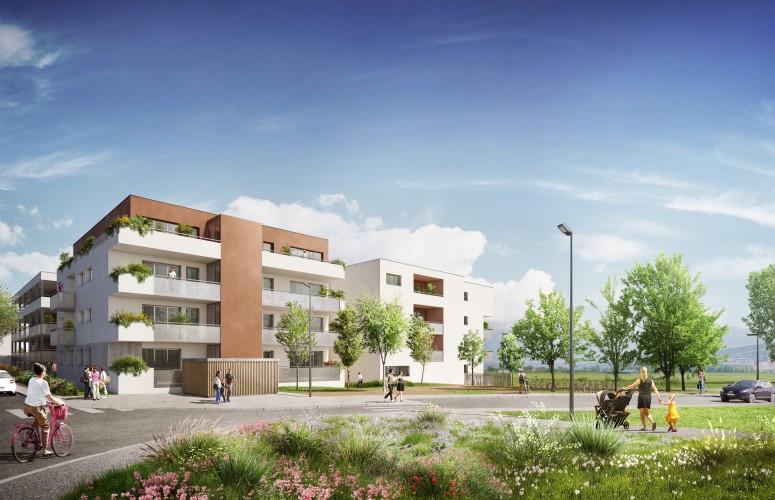 Programme immobilier - LE PERISSODE Accueil Impact immobilier 01