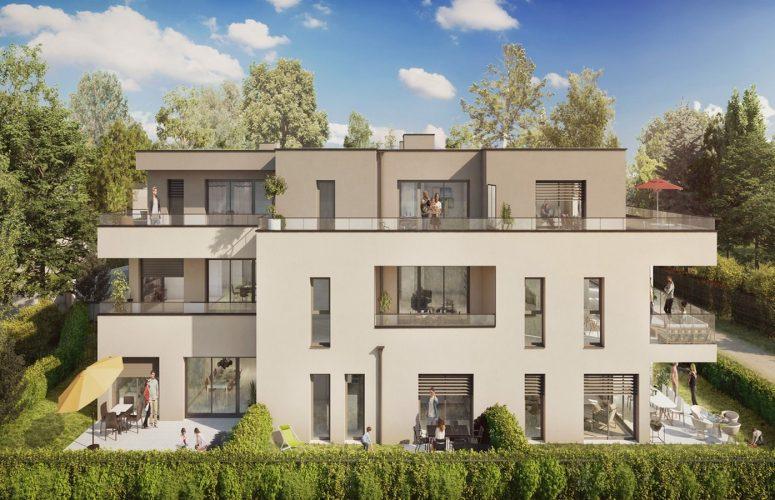 Programme immobilier - L'OREE DU CHATEAU Accueil Impact immobilier 01