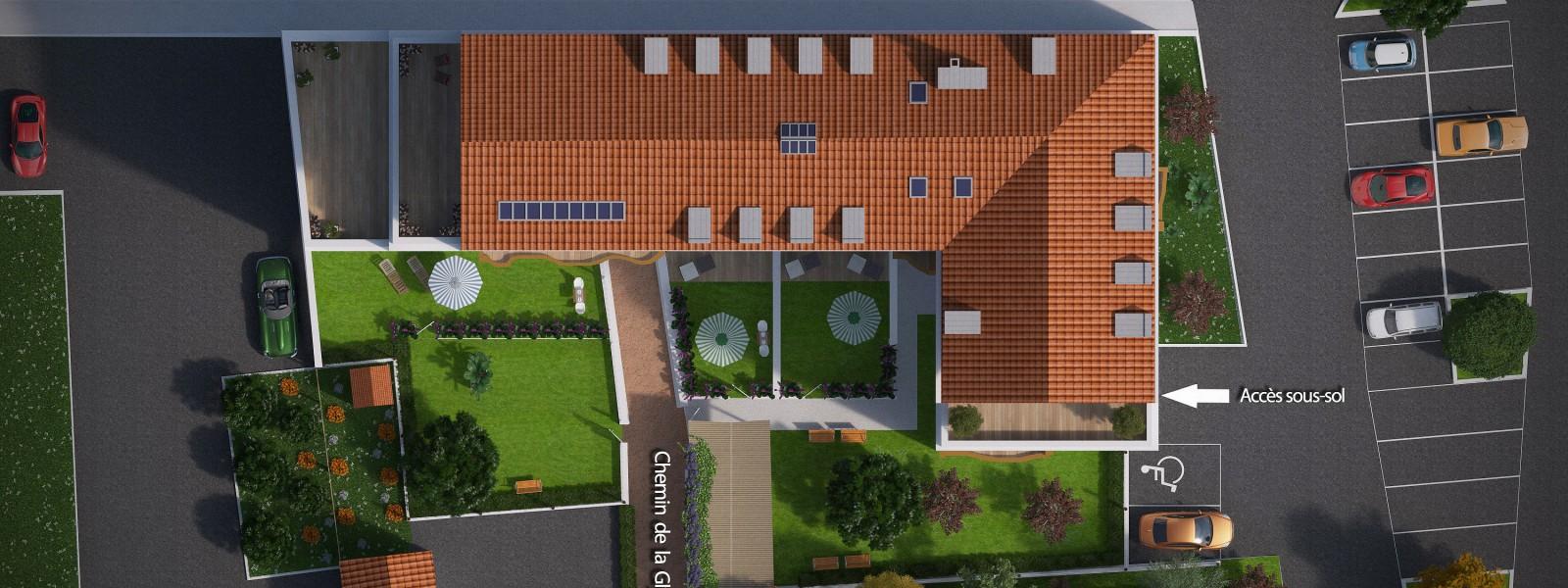 LES GLYCINES DE FERNEX - Visuel 4 - Impact immobilier 01
